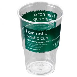 Biodegradable Half Pint Cup From Biopac
