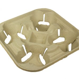 Recyclable carry tray from Biopac