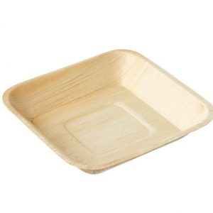 eco friendly square palm leaf plate
